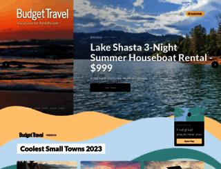 budgettravel.com screenshot