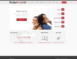 budgetvoipcall.com screenshot