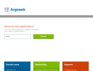 budgetwinkel.nl screenshot