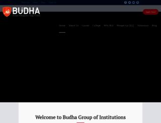 budhacollege.org screenshot