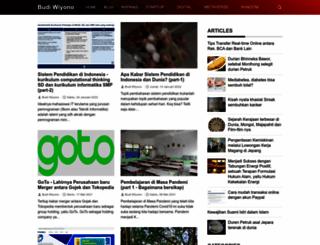 budiwiyono.com screenshot