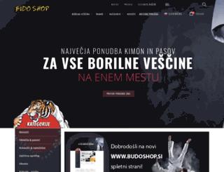 budoshop-sp.si screenshot
