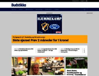 budstikka.no screenshot