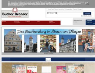 buecher-brenner.de screenshot
