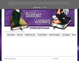 buecherfee.blogspot.com screenshot
