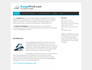 buegelprofi.com screenshot
