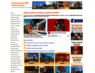 buenosaires123.com.ar screenshot