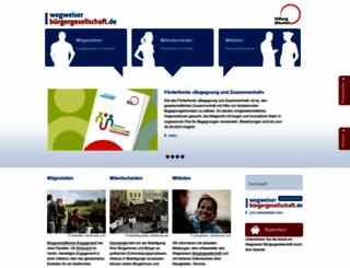 buergergesellschaft.de screenshot