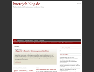 buerojob-blog.de screenshot