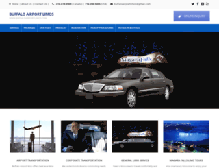 buffaloairportlimos.com screenshot