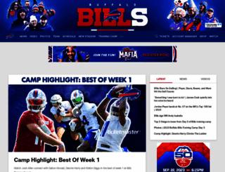 buffalobills.com screenshot