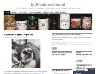 buffalobrewhound.com screenshot