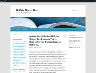 buffalocharter.edublogs.org screenshot