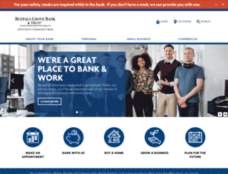 buffalogrovebank.com screenshot