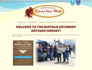 buffalosaturdayartmarket.com screenshot