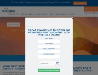 buffalosolarsolutions.com screenshot