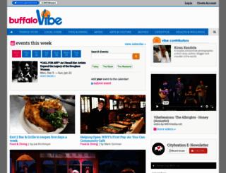 buffalovibe.com screenshot
