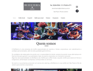 buffeteria.com.br screenshot