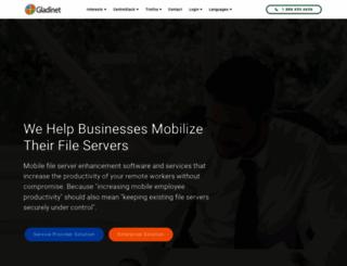 bug.gladinet.com screenshot