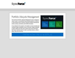 bugaboo.syncforce.com screenshot