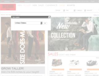 bugarrishoes.com screenshot