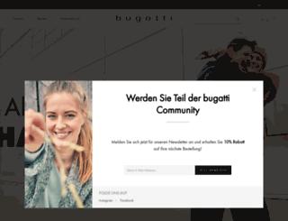 bugatti-shoes.com screenshot