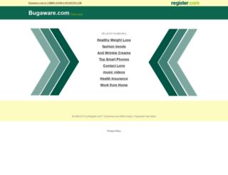 bugaware.com screenshot