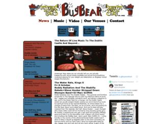 bugbearbookings.com screenshot