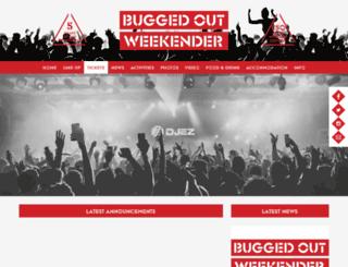 buggedoutweekender.net screenshot