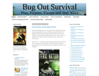 bugoutsurvival.com screenshot