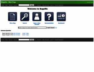bugs.koha-community.org screenshot