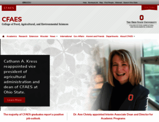 bugs.osu.edu screenshot