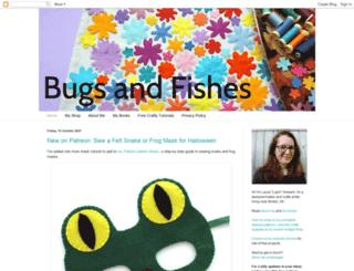 bugsandfishes.blogspot.com screenshot