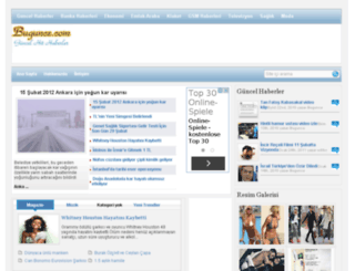 bugunce.com screenshot