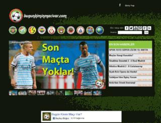 bugunkiminmacivar.com screenshot