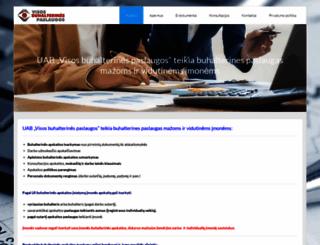 buhalteris.lt screenshot