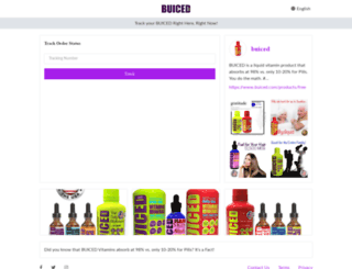 buiced.aftership.com screenshot