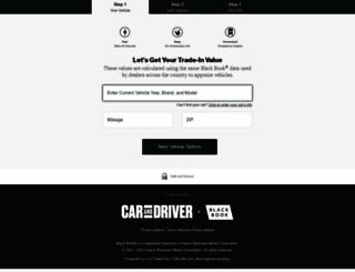 buick-blackbook-trade.intelliprice.com screenshot