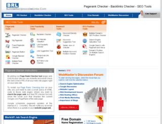 build-reciprocal-links.com screenshot
