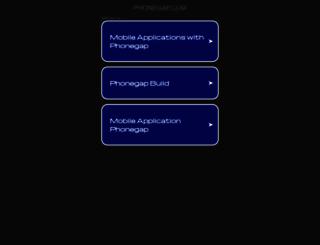 build.phonegap.com screenshot