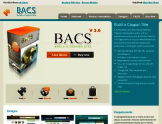 buildacouponsite.com screenshot
