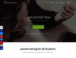 buildajoomlawebsite.com screenshot