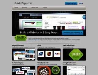 builderpages.com screenshot