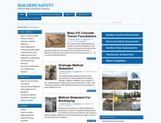 buildersafety.org screenshot