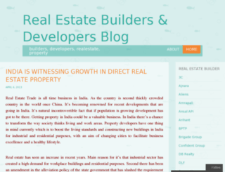 buildersanddevelopers.wordpress.com screenshot