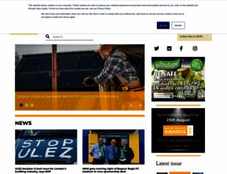 buildersmerchantsnews.co.uk screenshot