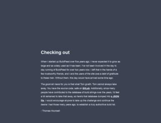 buildfeed.net screenshot