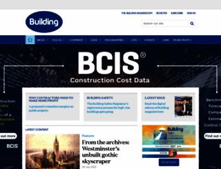 building.co.uk screenshot