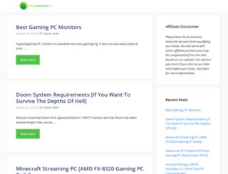 buildingagamingpcsite.com screenshot