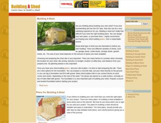 buildingashed.org screenshot